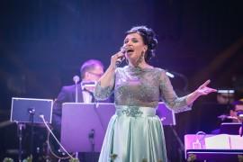 Operní hvězda mezzosopranistka Andrea Tögel Kalivodová ve stylu Carmen