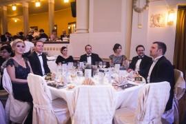 Česko-Slovenský ples 2015 poctili svou účastí také zástupci vlády Slovenské republiky. Vpravo finanční ředitel Česko-Slovenského plesu Tomáš Pavlíček