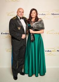 Prvý kozmonaut SR plk. Ivan Bella s manželkou Juditou